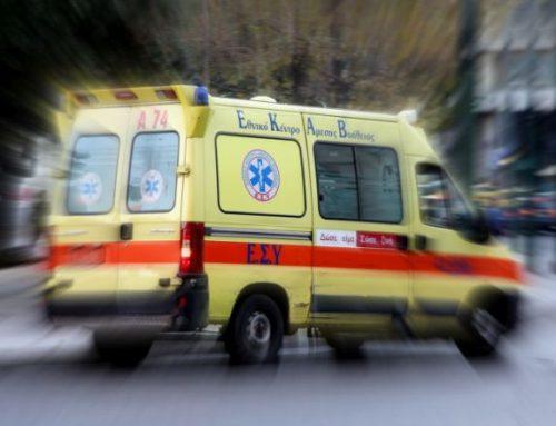 Σύγκρουση ΙΧ με μοτοποδήλατο με έναν τραυματία στην Κόρινθο