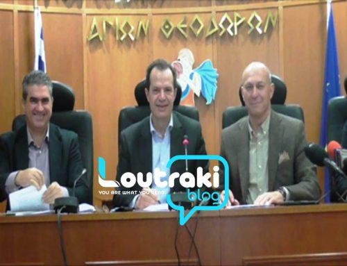 Γιώργος Δέδες: Aνοίγει ο δρόμος για τον προαστιακό στο Λουτράκι (video)