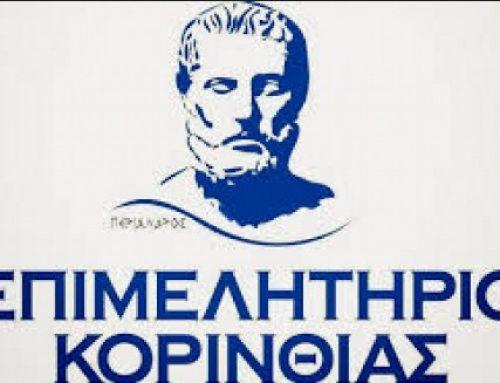 Επιμελητήριο Κορινθίας: «Εξαγωγές οίνου & γαστρονομικά concept – Τα όπλα του μέλλοντος της Ελληνικής ανάπτυξης»