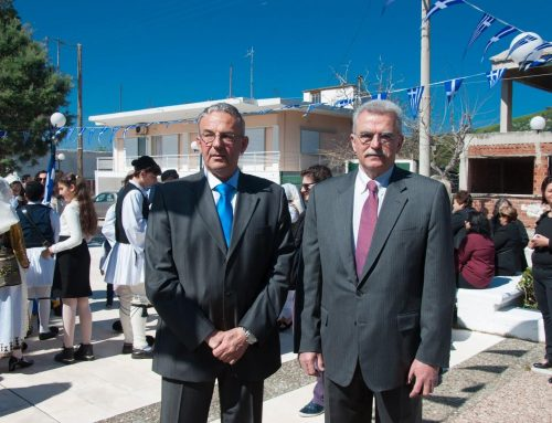 Μήνυμα για την 25η Μαρτίου του Υποψήφιου Δημάρχου Λουτρακίου-Περαχώρας-Αγίων Θεοδώρων Ιωάννη Καραπανάγου