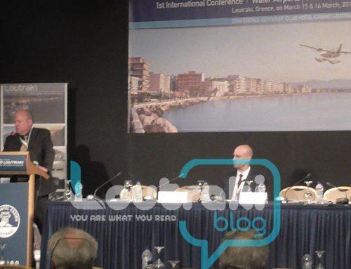 2η μέρα εργασιών του 1ου Διεθνούς Συνεδρίου στο Λουτράκι (εικόνες)