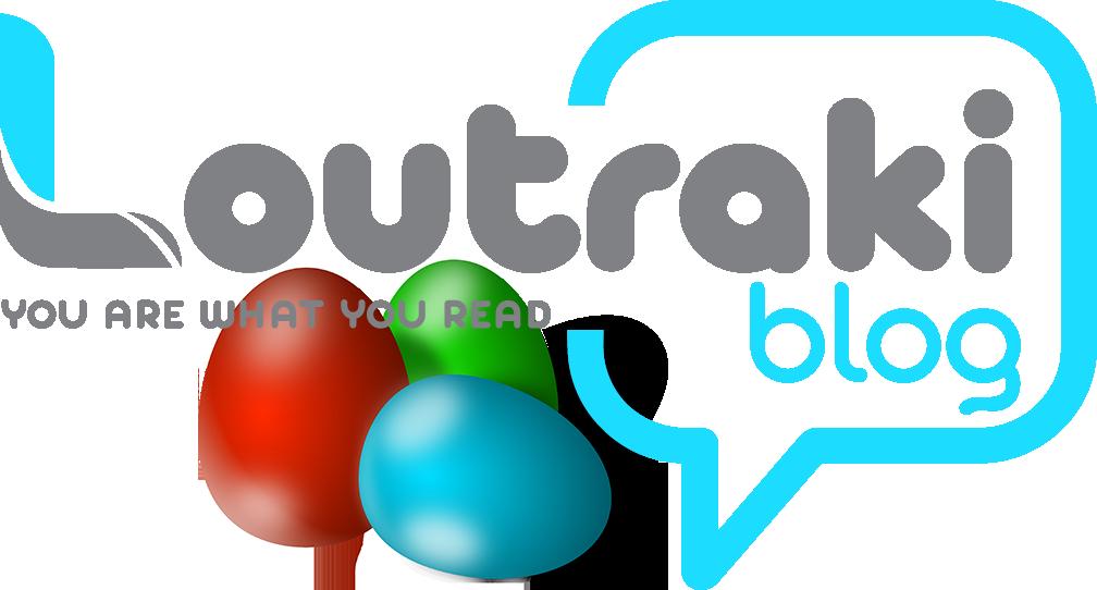 Loutrakiblog Λογότυπο