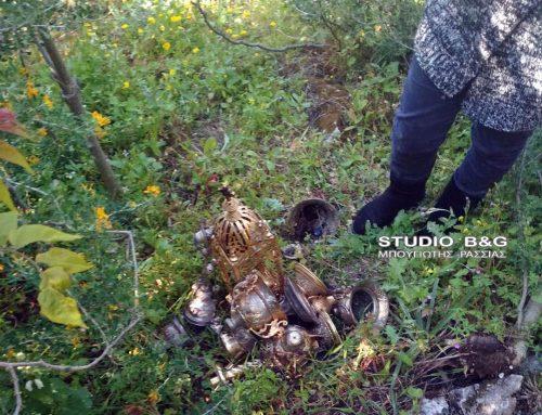 Εκκλησιαστικά σκεύη βρήκε νεαρός κάτω από το Παλαμήδι στο Ναύπλιο