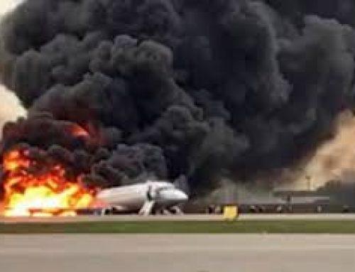 Αεροπορική τραγωδία στη Μόσχα: Στους 41 οι νεκροί από την πυρκαγιά σε αεροσκάφος