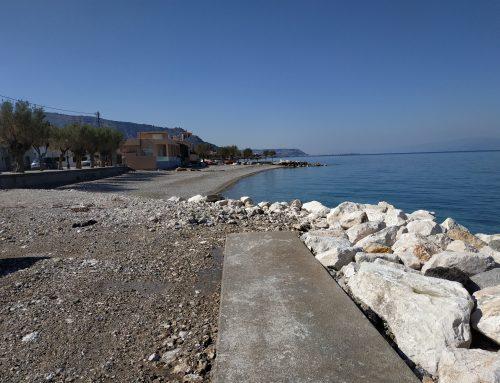 Απόστολος Παπαφωτίου: To φαινόμενο της διάβρωσης στα παράλια του Κορινθιακού