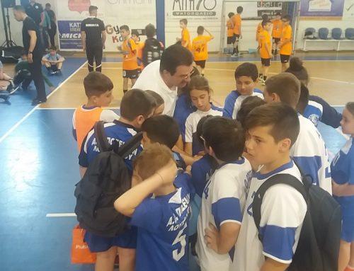 Handball:Συνέχεια του αναπτυξιακού πρωταθλήματος στο Ναύπλιο για τα μικρά του Ποσειδώνα Λουτρακίου