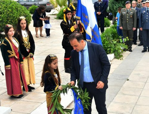 Ο Πρόεδρος του Επιμελητηρίου Κορινθίας, εκπροσώπησε τον Φορέα σε εκδήλωση μνήμης της γενοκτονίας των Ελλήνων του Πόντου.