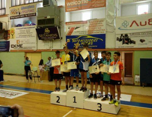 ΠΙΝΓΚ-ΠΟΝΓΚ Ασημένιο μετάλλιο στους τελικούς παμπαίδων για τον ΠΟΣΕΙΔΩΝΑ