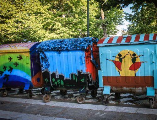 Τρένο η καθαριότητα στο Σχίνο Κορινθίας