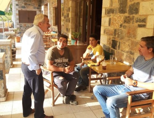 Μεσινό, Λαύκα, Σούλι και Κρυονέρι επισκέφθηκε ο υποψήφιος βουλευτής της ΝΔ Κώστας Κόλλιας