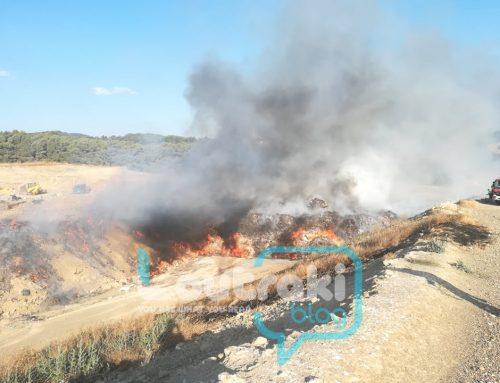 Φωτιά στη χωματερή Λουτρακίου