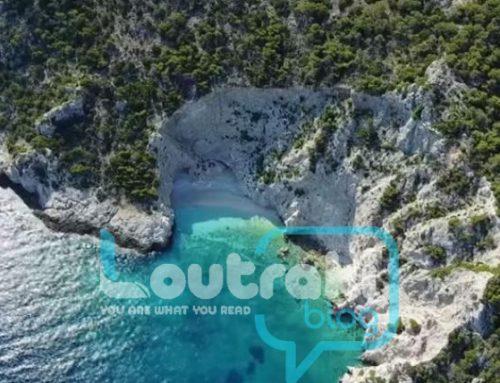 Η μαγευτική παραλία στο Λουτράκι που θυμίζει το «Ναυάγιο» της Ζακύνθου (video)