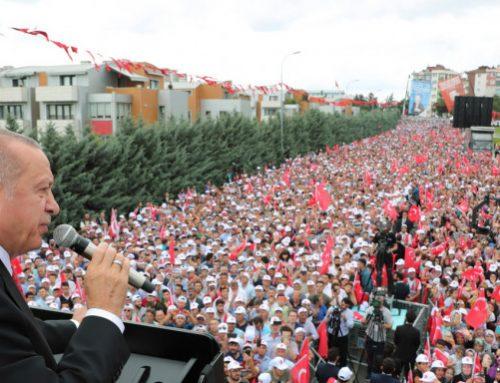 Ερντογάν: Μην «παραδώσετε» την Κωνσταντινούπολη στους Ελληνες
