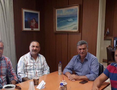 Το Επιμελητήριο Κορινθίας επισκέφθηκε ο νεοεκλεγείς Δήμαρχος Κορινθίων, κ. Βασίλης Νανόπουλος.