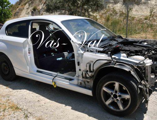 «Xειρουργημένη» βρέθηκε η κλεμμένη BMW στα Εξαμίλια Κορινθίας (εικόνες)
