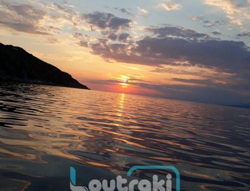 Καταπληκτικό ηλιοβασίλεμα στα Στραβά Περαχώρας (φωτο)