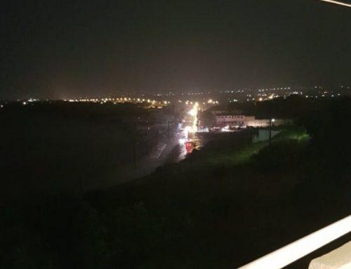Πάνω από 10 αυτοκίνητα εγκλωβίστηκαν στην Ποσειδωνία