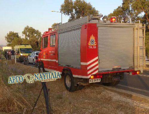Aργολίδα:Σοβαρά τραυματίας οδηγός μηχανής που εκσφενδονίστηκε δεκάδες μέτρα μακριά