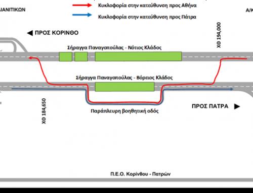 Ολυμπία Οδός : Ολιγόωρες Κυκλοφοριακές Ρυθμίσεις στις σήραγγες Παναγοπούλας