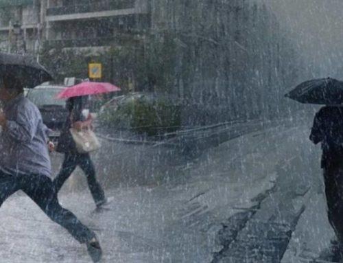 Σε ποιες περιοχές αναμένονται καταιγίδες σήμερα – Πότε θα εξασθενήσουν τα φαινόμενα