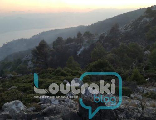 Λουτράκι:Οδοιπορικό στην κορυφογραμμή των Γερανείων(φωτό)