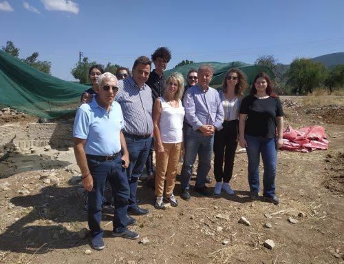 Γιώργος Πετρίτσης : Mεγάλη συστηματική ανασκαφή στο Χιλιομόδι Κορινθίας