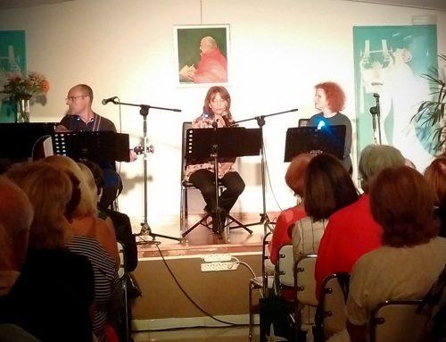 Όλια Λαζαρίδου, Μελίνα Τανάγρη στο Καλογεροπούλειο Ίδρυμα μαζί με τις ΑΛΚΥΟΝΙΔΕΣ. Μια φθινοπωρινή βραδιά γεμάτη ποίηση και μουσική!!