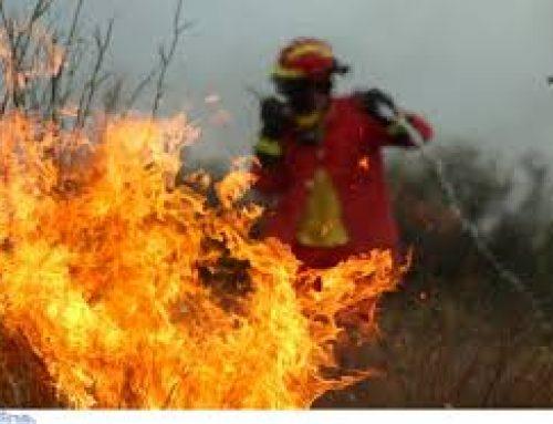 ΓΕΡΑΝΕΙΑ: Καλά στην υγεία του ο πυροσβέστης που αντιμετώπισε αναπνευστικά προβλήματα