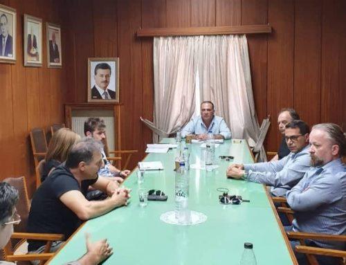 Συνάντηση Προέδρου του Επιμελητηρίου κ. Πιτσάκη με L.T.O