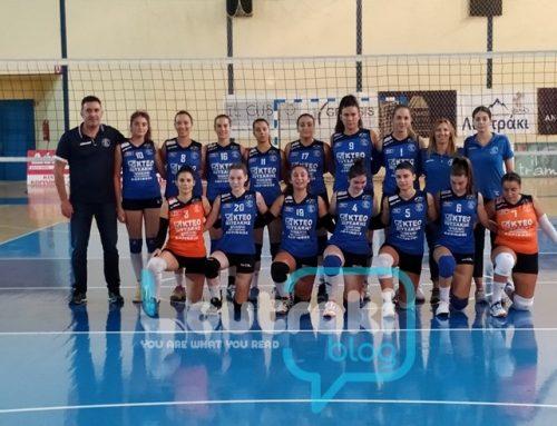 Volley Γυναικών : 3 στα 3 και στη θέση του οδηγού ο ΠΟΣΕΙΔΩΝΑΣ