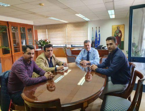 Συνάντηση του Δ.Σ. της Ένωσης Αστυνομικών Υπαλλήλων Κορινθίας με τον Δήμαρχο Κορινθίων