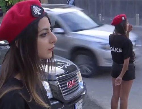Λιβανέζες αστυνομικίνες ρυθμίζουν την κυκλοφορία προκαλώντας…αναστάτωση