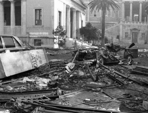 Οι 24 νεκροί του Πολυτεχνείου: Τα σημεία που έχασαν την ζωή τους σε χάρτη