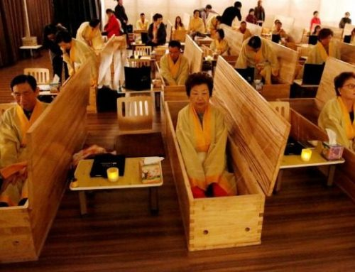 Οι «ζωντανές» κηδείες της Νότιας Κορέας