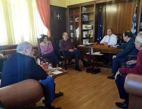Ισθμός και παραλιακό μέτωπο Λουτρακίου στην ατζέντα της Περιφέρειας για το 2020