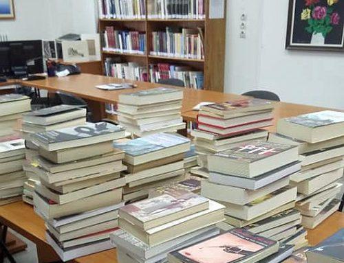 Άγιοι Θεόδωροι:Δώρισαν 282 βιβλία στη δημοτική βιβλιοθήκη