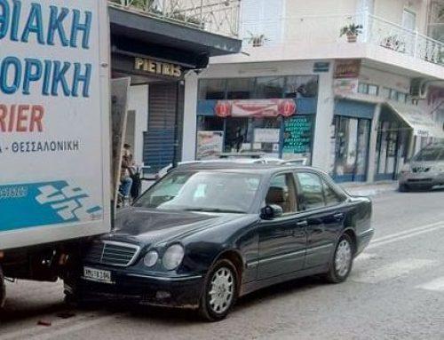 'Aγιοι Θεόδωροι: ΙΧ συγκρούσθηκε με φορτηγό