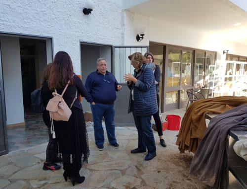 'Αγιοι Θεόδωροι: Ξεκίνησε η καταγραφή ζημιών από κλιμάκιο της Περιφέρειας(Εικόνες)