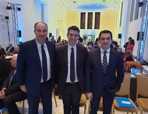 Ο Αντιπεριφερειάρχης Π.Ε Κορινθίας κ. Αναστάσιος Γκιολής παρευρέθηκε στο Ζάππειο Μέγαρο στο «1ο Διεθνές Forum για το νερό»