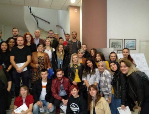 Λουτράκι: Ο Δήμαρχος υποδέχθηκε μαθητές από χώρες της Ε.Ε. (εικόνες)