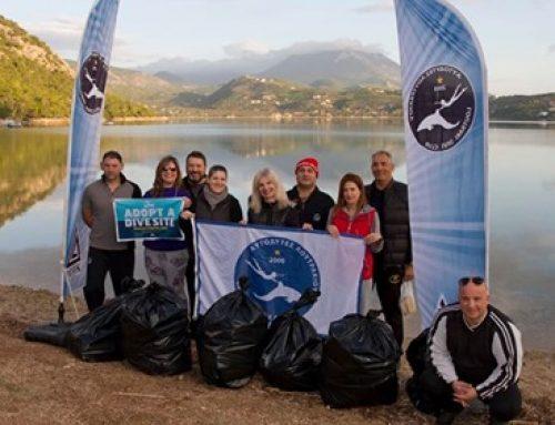 Ο Όμιλος Αυτοδυτών Λουτρακίου ξανα…καθάρισε τη Λίμνη Βουλιαγμένης (εικόνες)