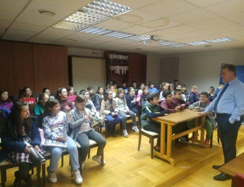 Επίσκεψη 2ου Δημοτικού Σχολείου Κορίνθου στο Δήμαρχο Κορινθίων