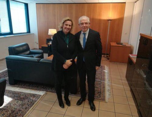 «Ενημερωτική Συνάντηση της Μαρίας Ελένης (Μαριλένας) Σούκουλη Βιλιάλη με τον νέο Πρόεδρο του ΕΛΓΑ κ. Αντρέα Λυκουρέντζο»