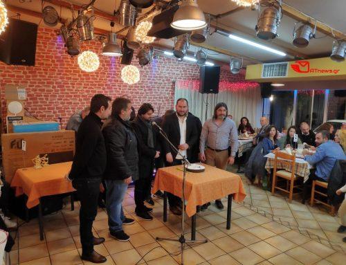 Έκοψε την Πρωτοχρονιάτικη πίτα η Ποδοσφαιρική Ομάδα των Αγίων Θεοδώρων (φωτο)