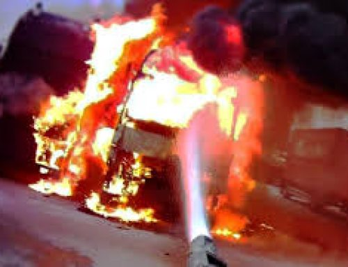 «Χάος» στην Αθηνών – Λαμίας λόγω πυρκαγιάς σε φορτηγό