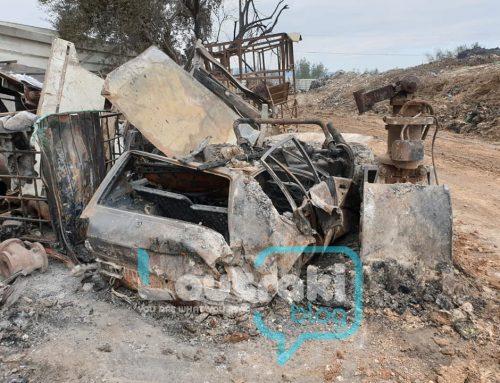 Κορινθία:Δείτε τι απέμεινε μετά τη φωτιά στο εργοστάσιο ανακύκλωσης (εικόνες)