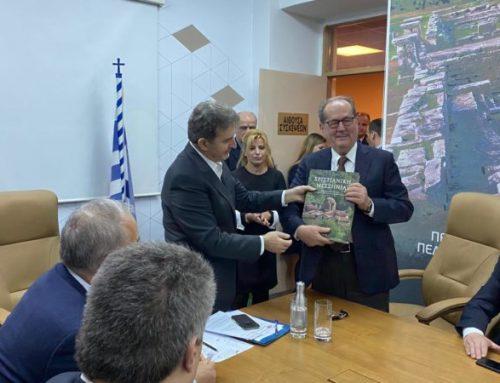 Στην Καλαμάτα ο Υπουργός Προστασίας του Πολίτη Μιχάλης Χρυσοχοΐδης (video-φώτο)