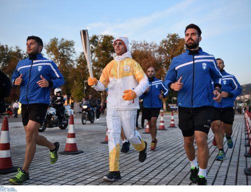 Γιώργος Πετρίτσης: Η ολυμπιακή φλόγα δεν θα σταματήσει στην Κορινθία !!!!!!