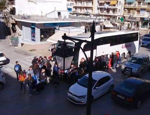 """Λουτράκι: Aνοικτή επιστολή δημότη για τις """"λεωφορειοφωλιές"""""""