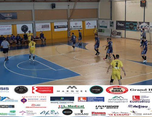 Handball: Νίκη… και στο Βάθος Play offs για τον Ποσειδώνα Λουτρακίου